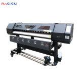 Nuovo rullo doppio XP600 di tecnologia 1.8m dell'innovazione della Cina per rotolare stampante UV per stampa morbida della pellicola