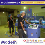 Qualitäts-Mineralwasser-Flasche, die Schrumpfverpackungsmaschine einwickelt