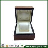 Brilhante de alta qualidade para a embalagem da caixa de relógio de madeira