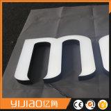 Lettre et logo extérieurs de Lit d'avant d'intense luminosité d'utilisation