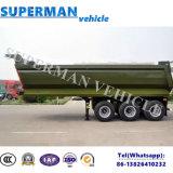 판매를 위한 트럭 트레일러 25cbm를 기울이는 베트남 유형 세 배 차축 덤프 팁 주는 사람