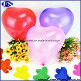 Grünes Latex-Hochzeits-Inner-geformte Ballone der Verpackungs-100PCS