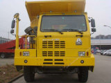 Sinotruk 70tオフロード鉱山のダンプトラック