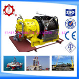 10 톤 (20000Lbs) 근해 Pneumatic Air Tugger Winch