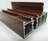 Profils en aluminium d'extrusion pour le guichet et le cadre de porte