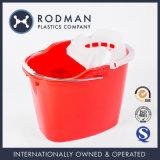 Ведро Mop No 4 красного цвета Pleastic HDPE Nestable для оптовой продажи