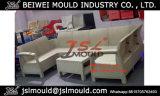カスタム注入のプラスチック藤のソファーの椅子型