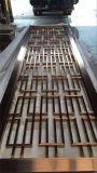 Panneaux de mur soudés par pipe d'acier inoxydable d'écran de partition en métal de prix de gros