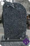 러시아 작풍 중국 절대적인 까만 화강암 기념물/묘석/묘비 1200*600*70mm