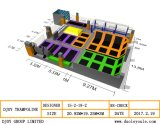Piscina Trampolim Park Design, trampolim Amusement Park (BJ-BU15)