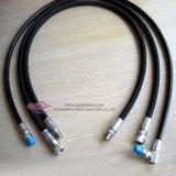 SAE100r3à basse pression hydraulique du flexible en caoutchouc