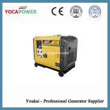 комплект генератора портативной малой силы двигателя дизеля 5.5kw молчком тепловозный