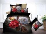 2018 Venta caliente abajo de lujo en 3D de Poliéster 100 Conjunto de ropa de cama Ropa de cama de inicio
