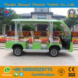 Zhongyi 8のシートのセリウムが付いている電池式の観光事業バス