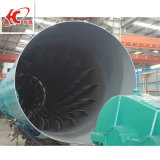 Les matériaux de construction de kaolin, séchoir à tambour rotatif