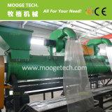 Plástico PET de gran capacidad de lavado de aplastamiento de la línea de secado