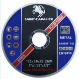Disco ultra sottile di taglio per metallo/acciaio 125X1.0X22.23