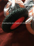 China plana de goma maciza de espumas de poliuretano libre de la rueda de carro