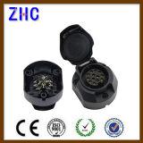 12V/24V fiche en laiton et plot d'énergie électrique de remorque de Pin de l'Européen 7