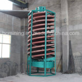 Concentrador de espiral de mineral de cromo Precio con la norma ISO aprobó