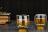 ギフトのためのカスタマイズされた高いホウケイ酸塩ガラスのティーポットの一定のティーカップ