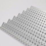 L'épaisseur 1,5 mm galvanisé de haute qualité Fiche de réduction sonore en métal perforé