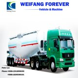 High-Tensile competitiva do tanque de cimento a granel de aço semi reboque Carreta