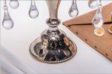 Держатель для свечи плаката цвета 5 металла Shine стеклянный для украшения венчания