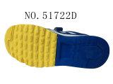 Jaune Bleu TPR semelle des chaussures pour enfants