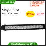 20pouces 120W CREE LED simple rangée Light Bar Offroad LED LED LED phare de travail barre de feux de route