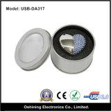 USB Disk di Shape del cuore con Diamond (USB-DA317)