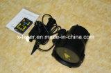 Водоустойчивый напольный репроектор лазера светляка RGB статический, лазерный луч рождества