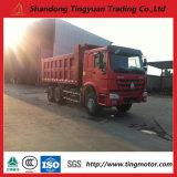 아프리카를 위한 Sinotruk HOWO 6*4 고품질 덤프 트럭