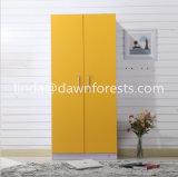 Wardrobe/armário da melamina MDF/Pb/Chipboard da cor do projeto simples