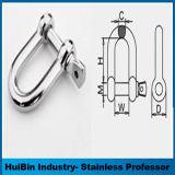 販売の高い磨かれた鋼鉄弓およびDの形4mmの手錠