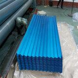 Folha de aço galvanizada corrugada casa da telhadura do produto de aço Q235B