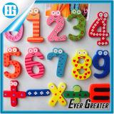 3D PVC divertente Doraemon e Numbers Rubber Fridge Magnet