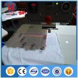 Automático T-Shirt de calor de la etiqueta de la máquina de prensa