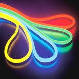 CE EMC LVD RoHS deux ans de garantie, lumière au néon bleue de câble de LED,