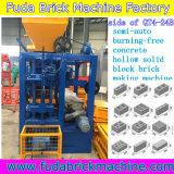 Bloc creux Brûler-Libre de brique de béton semi automatique de qualité faisant la machine
