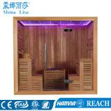 Type de sièges en bois Two-Side Sauna sec-6043 Salle (M)