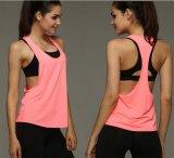 نساء أداء [رسبك] رياضة يحلّ [تنك توب] لياقة يركض [برثبل] [سبورت شيرت] تمرين بدنيّ بسرعة صدرات جافّ