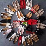 2.5$ dollar MOQ 100 Paar Dame Flat Shoes Stock