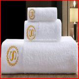 卸し売り手タオルか贅沢の100%年綿のホテルの表面タオル、ホテルの浴室タオルの