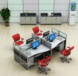 Divisor de Estação de Trabalho de Computador de Layout Moderno do Gabinete de Escritório (HF-YZQ50)