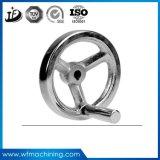 Rueda volante del hierro gris del bastidor de arena/del arrabio para la bici de ejercicio magnética