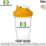 400ml copo de plástico do vaso do sacudidor, Proteína de plástico do vaso do sacudidor (HDP-0302)