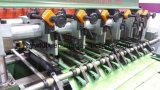 Тетрадь скрепленная проводом делая производственную линию