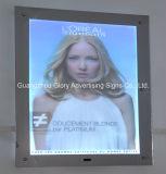 Frameless LED retroiluminada Magic Mirror Light Box