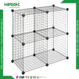 Public garden Display Metal Wire Dump Bin Rack